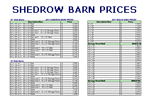 Shedrow Prices & Options