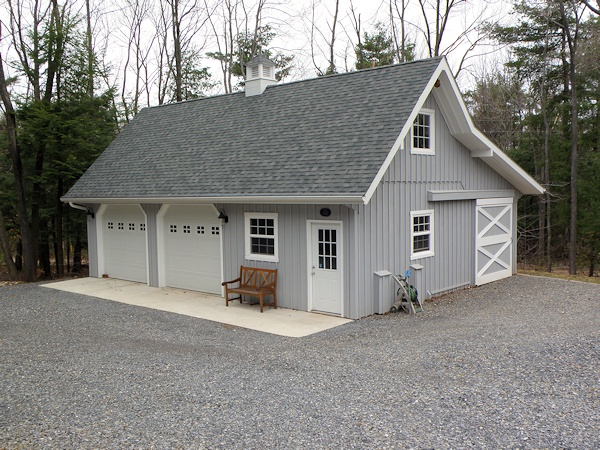 Architectural Plans For 28 X36 Custom Built Wooden Garage