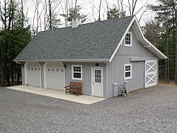 28'x36' Custom Barn Garage